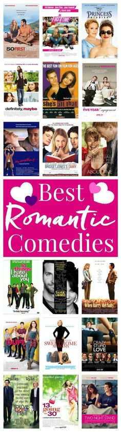 This is the list of all the ones you NEED to watch! Whether you're cuddling up with your sweetheart, hanging out with the girls, or taking a mental health day for yourself, it's never a bad time for a romantic comedy. Especially wi Movie To Watch List, Good Movies To Watch, Movie List, List Of Movies, Movies To Watch Comedy, Best Love Movies, Comedy Comedy, Comedy Quotes, Movie Tv