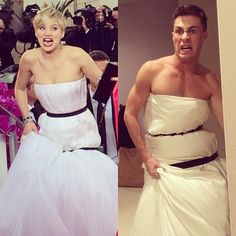 If imitation is the sheerest form of flattery, Colton Haynes just INSTAGRAMd that S*$t!!! Two very cool celebs doing two very cool, momentous pop cultural things!