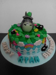 Totoro Jelly Cake