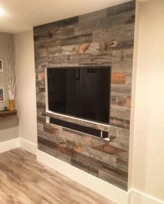 Reclaimed Weathered Wood is part of Living room tv wall - wood Color Texture Living Rooms Reclaimed Weathered Wood Living Room Tv Wall, Living Room Tv, Farm House Living Room, Farmhouse Living, Living Room Designs, Living Room Tv Stand, Tv Room, Wall Design, Room Design