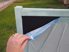 sweet pea's - how to paint an ikea easel, cleaning dry erase board, and repainting a chalkboard