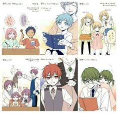 Kuroko no Basket Kuroko No Basket, Anime Basket, Anime Dad, Anime Guys, Kiseki No Sedai, Akakuro, Generation Of Miracles, Kuroko Tetsuya, Sports Wallpapers