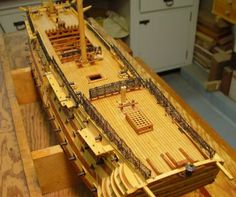 Forums / POF Build Logs / 1:96 HMS Victory Scratchbuild - Model Ship Builder
