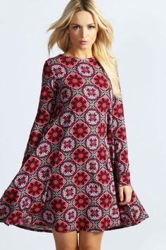 "tent dress | ... Long Sleeve Swing Dress "" the tent dress"" | My Style | Pinterest"