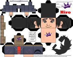 Hiro Hamada Cubeecraft from Big Hero 6 | SKGaleana