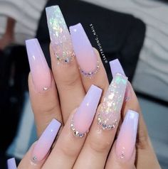 pretty nails for summer & pretty nails ; pretty nails for summer ; pretty nails for winter ; pretty nails for spring ; Aycrlic Nails, Hair And Nails, Nail Nail, Fingernails Painted, Toenails, Cute Acrylic Nail Designs, Best Nail Designs, Long Nail Designs, Ombre Nail Designs