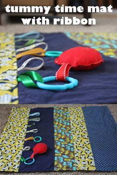 Fisher's Mommy: Tummy Time Mat Tutorials