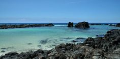 Kikaua Point Beach. Not too crowded, just north of the Kona airport.