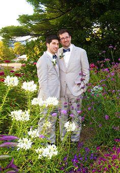 Basin Harbor Club -  Gay wedding in the garden