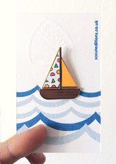 Sailboat Pin