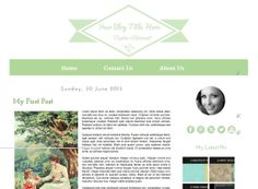 ON Sale 80 Off  Light Green  Blogger Template by Symufathemes, $5.00