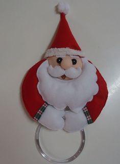 como hacer porta toallas navideños Christmas 2016, Christmas Gifts, Christmas Ornaments, Christmas Ideas, Holiday Decor, Home Decor, Dish Towels, Christmas Crafts, Stickers