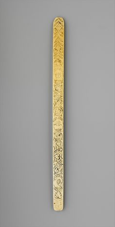 Busk, 17th century, French, Metropolitan Museum of Art, Gift of Mrs. Edward S. Harkness, 30.135.21