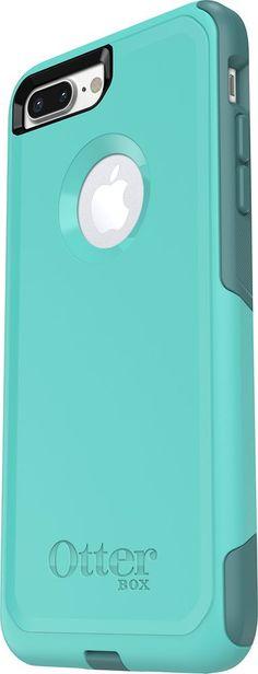 OtterBox - Commuter Series Case for Apple® iPhone® 7 Plus - Aqua/ Green (Blue/Green), 47919BBR