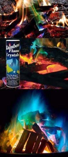 Color flames