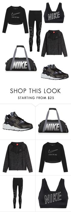 """Just do it ✔️"" by eiffelstyles ❤ liked on Polyvore featuring NIKE"