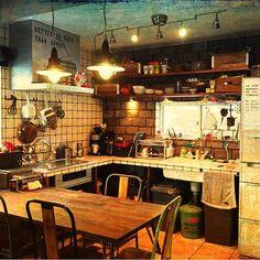 ぐちゃぐちゃ(:´⊆`.:) /キッチンのインテリア実例 - 2014-01-28 09:17:07 | RoomClip(ルームクリップ)