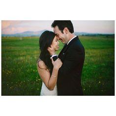 first magic hour together #visbons #wedding #destinationwedding
