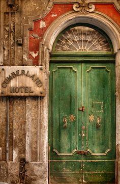 Old Hotel Doorway. By Jon Wrigley