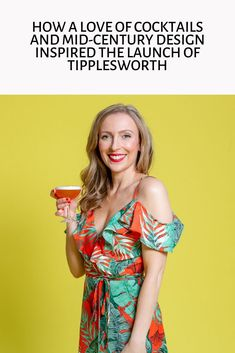 Today I'm delighted to be sharing my interview with Frankie Snobel, the founder of Tipplesworth. Since their launch in 2013 Tipplesworth have been creating. Mid Century Design, Interview, About Me Blog, Cocktails, Product Launch, Inspired, Inspiration, Women, Fashion