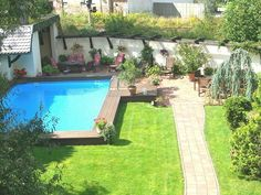 Tolle Gestaltungsidee Fur Pool Im Garten