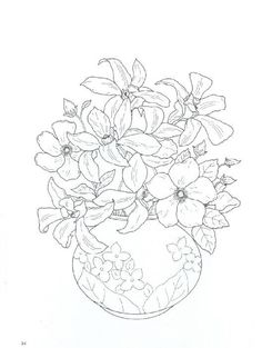 Amazon Floral Bouquets Coloring Book Dover Nature 9780486286549 Charlene Tarbox Books