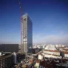 LYON   Tour Incity   Valode & Constantin   200m   40 étages   en construction   2011-2015 - Page 370 - SkyscraperCity