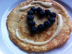 Pancakes with Blueberries ❤