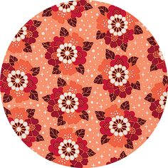 """Elizabeth Hartman for Robert Kaufman, Rhoda Ruth, Flower Shine Petal Fabric is sold by the 1/2 Yard. For example, if you would like to purchase 1 Yard, enter 2 in the Qty. box at Checkout. Yardage is cut in one continuous piece when possible. Examples: 1/2 yard = 1 1 yard = 2 1 1/2 yards = 3 2 yards = 4 1/2 Yard Measures ~18"""" x 44/45"""" Fiber Content: 100% Cotton Hover over image for a larger, better view."""