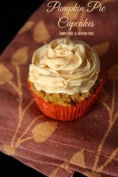 Gluten-Free Pumpkin Pie Cupcakes