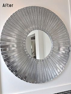 metallic mirror frame by trn