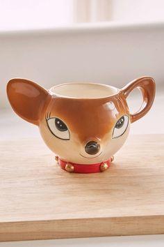 Holiday Deer Mug - Urban Outfitters https://www.pinterest.com/lahana/mugs-cups-and-drinkware/