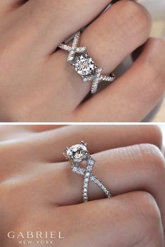 Explore thousands of engagement ring styles from Gabriel & Co. to find the perfect piece of jewelry that locks in love forever. Engagement Ring Buying Guide, Perfect Engagement Ring, Engagement Ring Styles, Antique Engagement Rings, Oval Engagement, Unique Rings, Beautiful Rings, Wedding Jewelry, Wedding Rings