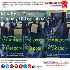 Flight to Amsterdam Only IDR 10.118.000 Nett PP , Book Now ! ;) #mastravelbiro #tiketpromo #klm #amsterdam #paris