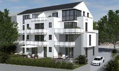 In der Friedhofstraße 49 in Stuttgart entsteht ein Mehrfamilienhaus mit 11 Wohneinheiten von der Wacker Wohnprojekt GmbH.