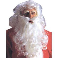 Santa Wig And Beard Economy