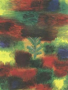 Paul Klee - Little Tree Amid Shrubbery, 1919