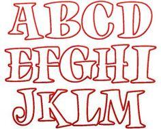 Girly Alphabet Letter Fonts images