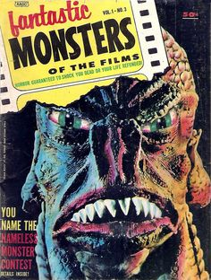 Fantastic Monsters Of The Films - 1962-63