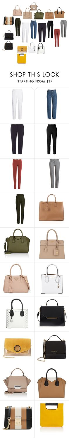 """Bags"" by olgaadams on Polyvore featuring Mode, Michael Kors, Vetements, Dorothy Perkins, Étoile Isabel Marant, Etro, Jil Sander Navy, Haider Ackermann, Prada und Givenchy"