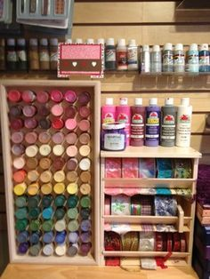 1000 images about craft rooms storage etc on for Plastic bottle storage