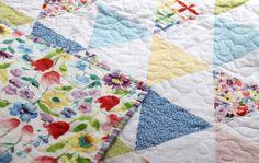 Spring Street // Tipsy Triangles Quilt | Dear Stella Design