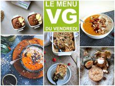 Menu VG du vendredi 100% porridges sucrés et réconfortants