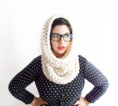Image of Lucy Cowl in White Lotus GORGEOUS!! Want!! ❤️❤️❤️❤️