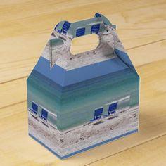 Tropical Beach Favor Box