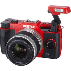 Pentax Q10 Compact Camera with 5-15mm Lens