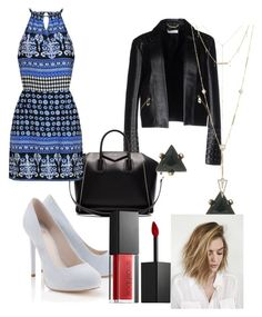 """""""Aria Montgomery #PLL coming to an end"""" by ihascupquake270 on Polyvore featuring Lipsy, Versace, Givenchy, House of Harlow 1960 and Smashbox"""