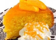 A sweet and tangy orange cake that is moist and delicious. Moist Orange Cake Recipe from Grandmothers Kitchen. I would top this with an orange dream whip icing and rind for deco. Orange Recipes, Sweet Recipes, Cake Recipes, Dessert Recipes, Orange Juice Cake, Orange Sponge Cake, Orange Cakes, Just Desserts, Delicious Desserts