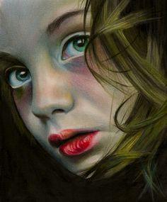 """Saatchi Art Artist: Brian Scott; Pencil Drawing """"No"""""""