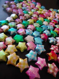 Cute Origami Craft: How to Fold Lucky Stars